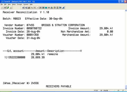 Reconciling An EDI Invoice To A Priced Receiver - Edi invoice